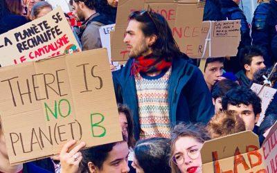 Grève pour le climat :la jeunesse se lève face à l'urgence climatique!