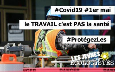 1er mai : Pas de manifestations mais des revendications !