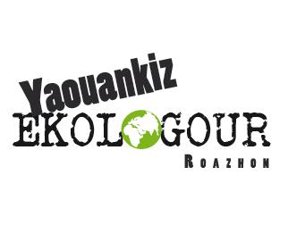 un logo bilingue pour les jeunes ecologistes de rennes les jeunes