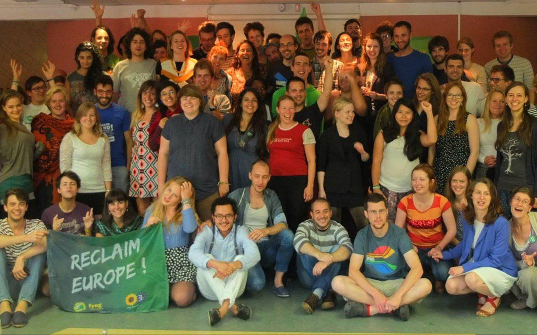 La Fédération des Jeunes Verts Européens a élu un nouveau bureau