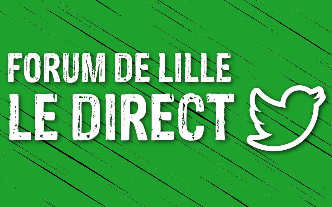 Suivez en direct le #ForumLille !