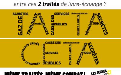 """[La Nouvelle République] Les Jeunes Écologistes revendiquent """"un acte radical"""""""