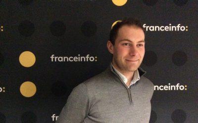 [France Info] Interview de Benjamin, co-secrétaire fédéral des Jeunes Écologistes