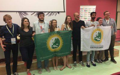 Les Jeunes Verts Européens se réunissent à Madrid pour leur AG