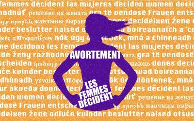 Les femmes décident ! Les Jeunes Écologistes se mobilisent pour le droit à l'avortement libre