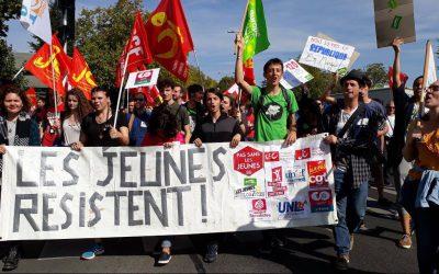 Tout-e-s dans la rue le 10 octobre pour exiger un droit à l'avenir !