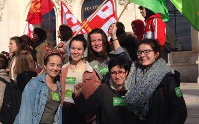 Le 3 avril, continuons la mobilisation contre la sélection, pour une université ouverte !