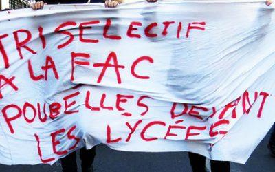 Convergence des luttes : les Jeunes Écologistes rejoignent la mobilisation lycéenne