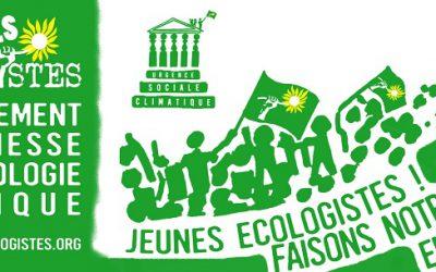Jeunes Écologistes : faisons notre (r)Entrée en politique !