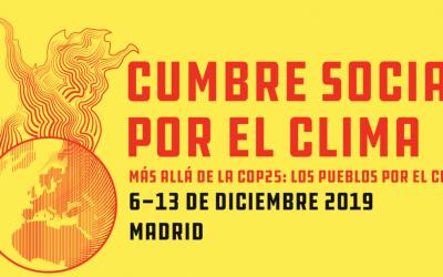 Pour un sommet social pour le climat à Madrid