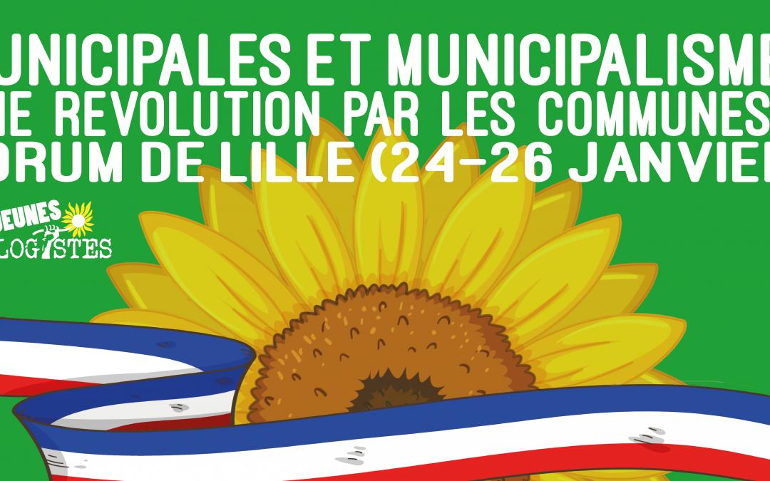 Forum de Lille : municipales et municipalisme
