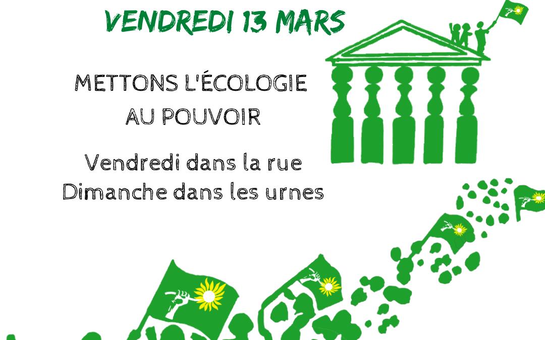 Kit militant – Grève pour le climat (13 mars)
