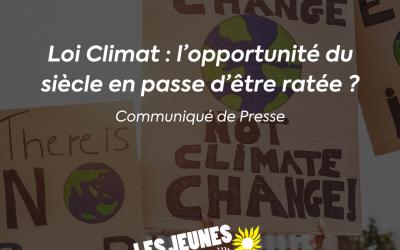 Loi Climat : l'opportunité du siècle en passe d'être ratée ?